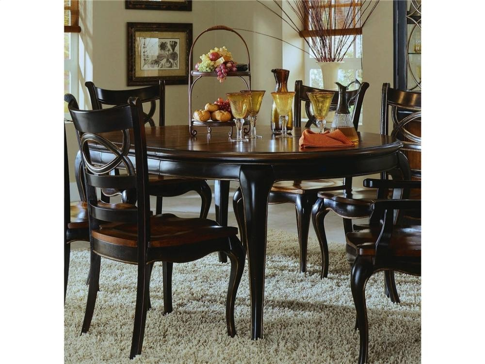Peachy Preston Ridge Round Leg Dining Table With 1 18 Leaf Beatyapartments Chair Design Images Beatyapartmentscom