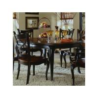 Preston Ridge Round Leg Dining Table with 1-18
