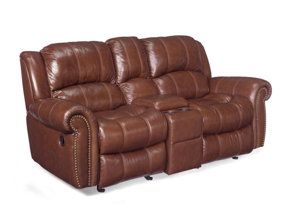 Exceptionnel Sebastian Entertainment Sofa W/2 Glider Recliner Stg Console