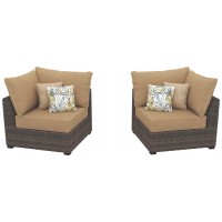 Spring Ridge Corner Chair with Cushion (Set of 2)