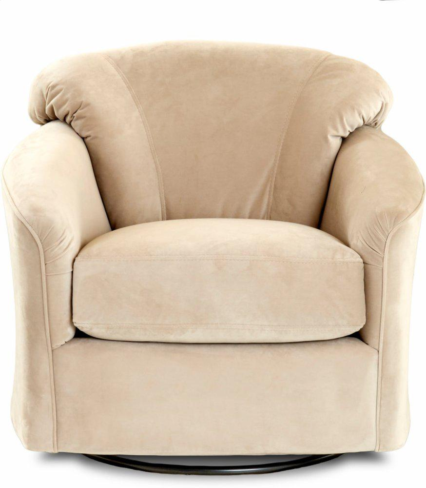KLAUSSNER Living Room Swivel Glider Chair 12 SWGL
