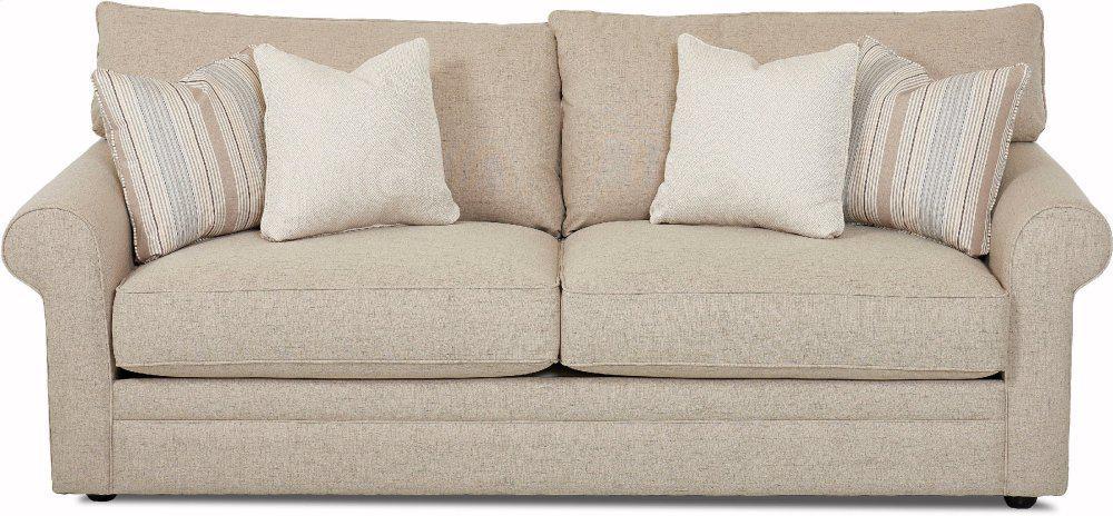 Klaussner Living Room Comfy Sofa 36330 S 36330s Sofas