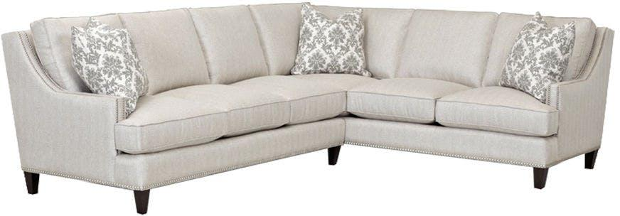 KLAUSSNER Living Room Duchess Sectional D40600 FAB SECT