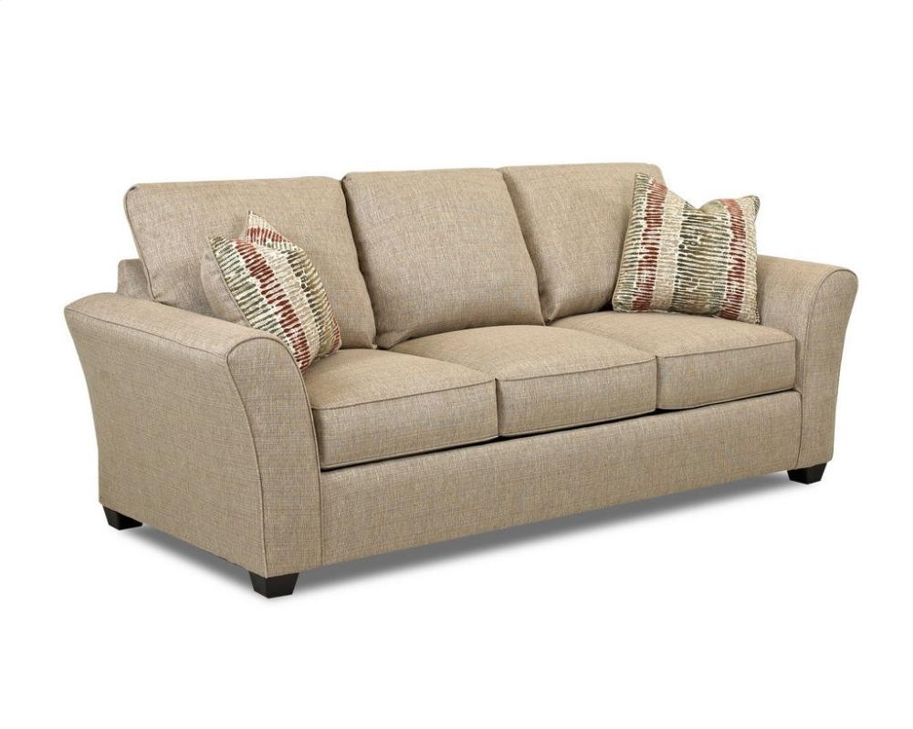 KLAUSSNER Living Room Sedgewick Dreamquest Queen Sleeper w/Chopper ...