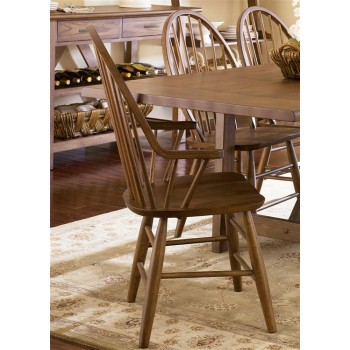 LIBERTY FURNITURE INDUSTRIES Windsor Back Arm Chair