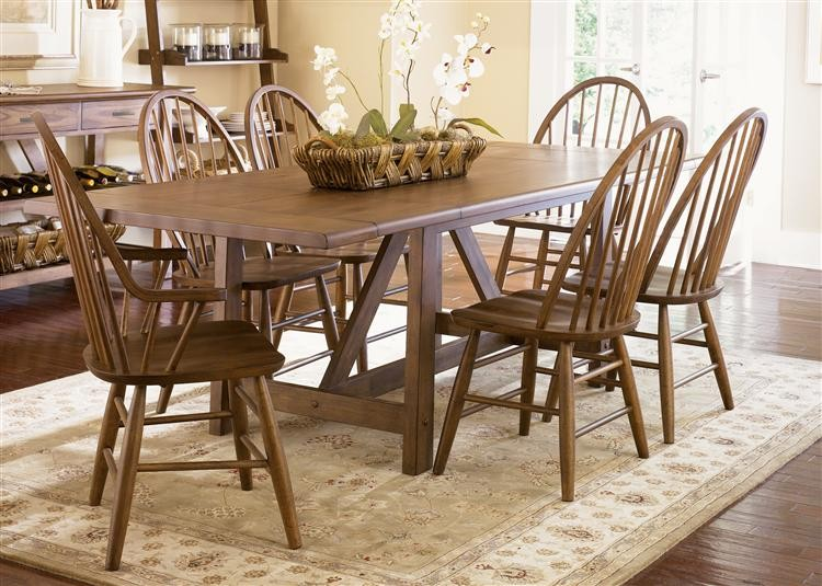 LIBERTY FURNITURE INDUSTRIES Trestle Table