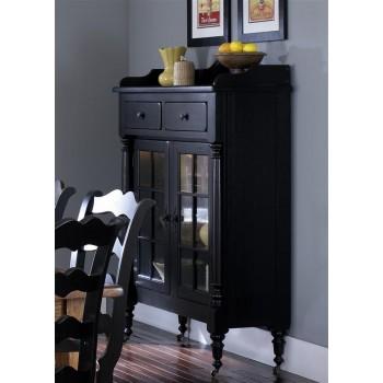 LIBERTY FURNITURE INDUSTRIES Display Cabinet - Black