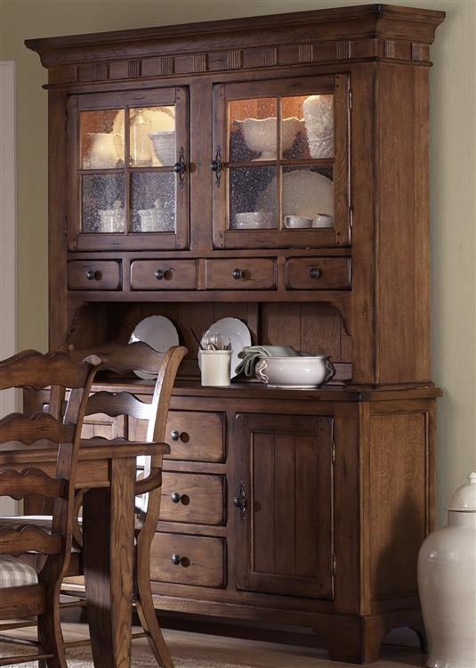 Phenomenal Liberty Furniture Industries Hutch Buffet Set Home Interior And Landscaping Ologienasavecom