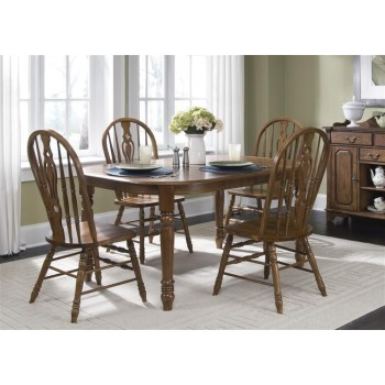 LIBERTY FURNITURE INDUSTRIES Oval Leg Table