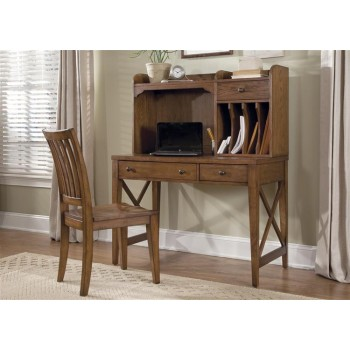 LIBERTY FURNITURE INDUSTRIES Writing Desk Hutch