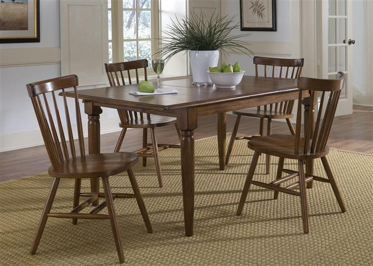 LIBERTY FURNITURE INDUSTRIES Butterfly Leaf Table - Tobacco