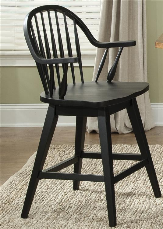LIBERTY FURNITURE INDUSTRIES 24 Inch Swivel Counter Chair