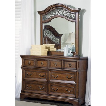 LIBERTY FURNITURE INDUSTRIES 6 Drawer Dresser