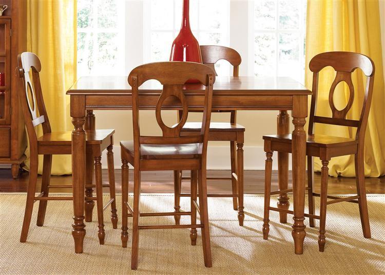 LIBERTY FURNITURE INDUSTRIES Opt 5 Piece Gathering Table Set & LIBERTY FURNITURE INDUSTRIES Opt 5 Piece Gathering Table Set ...