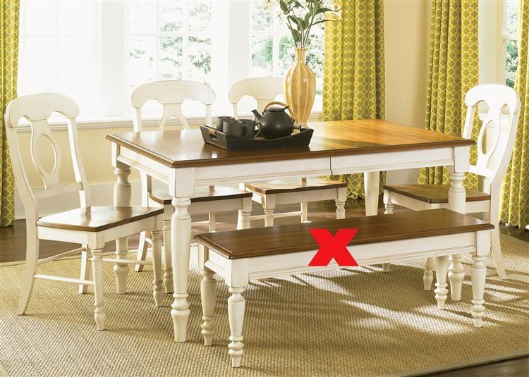 Liberty Furniture Industries Opt 5 Piece Rectangular Table