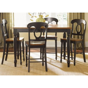 LIBERTY FURNITURE INDUSTRIES Opt 5 Piece Gathering Table Set