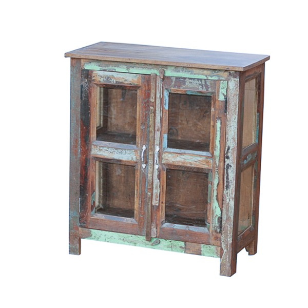 L.M.T. RUSTIC AND WESTERN IMPORTS Reclaimed painted wood sideboard