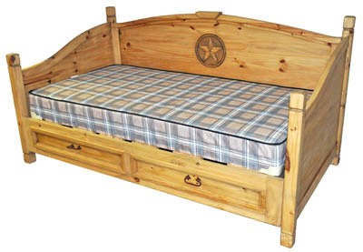 MILLION DOLLAR RUSTIC Star Daybed (with Star)