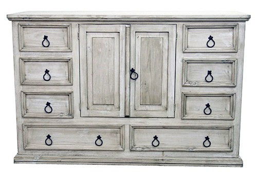 Incroyable MILLION DOLLAR RUSTIC White Washed Dresser | 0214002D | Dressers | Quality  Furniture