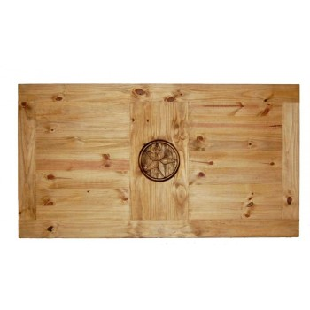 MILLION DOLLAR RUSTIC 5 Table W/star On Top & Leg