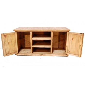 MILLION DOLLAR RUSTIC Rope TV Stand