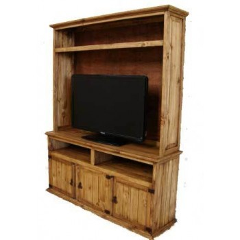 MILLION DOLLAR RUSTIC TV Stand Hutch