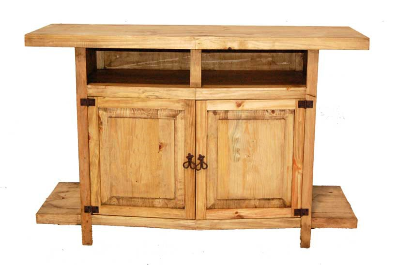 Million Dollar Rustic Tv Stand W Shelves 0911036 Tv Stand