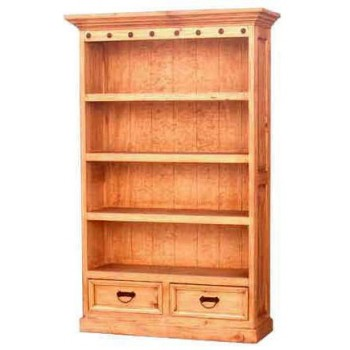MILLION DOLLAR RUSTIC Bookcase T/m Primo