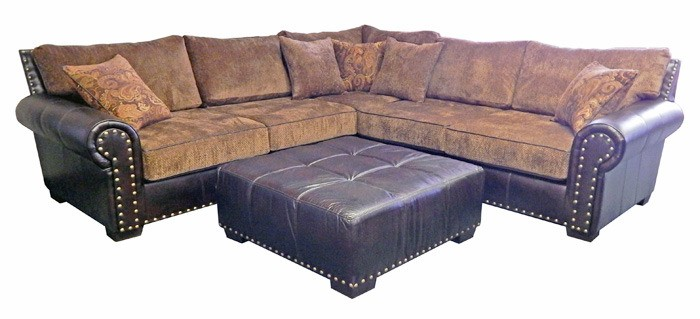 Elegant MILLION DOLLAR RUSTIC 661 Sectional W pillows Inspirational - Review rustic sectional sofa New Design
