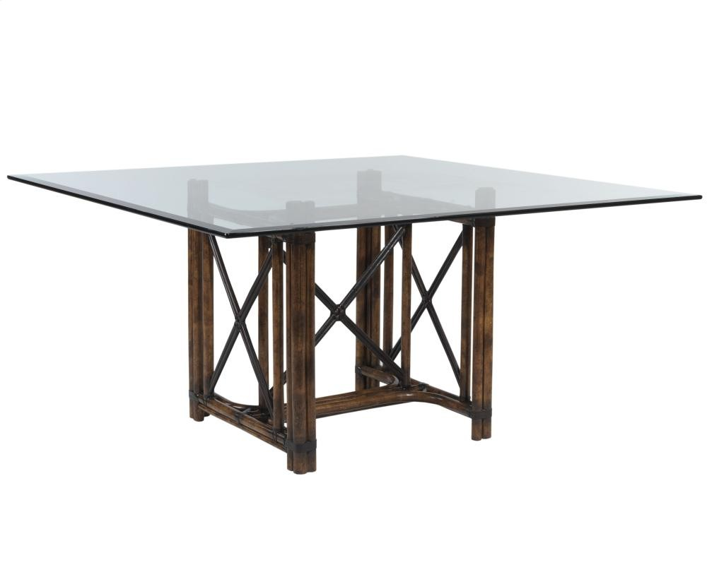 Rattan dining table base only