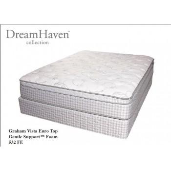SERTA Dreamhaven - Graham Vista - Euro Top - Cal King