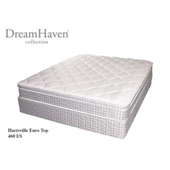 SERTA Dreamhaven - Hartsville - Euro Top - Full