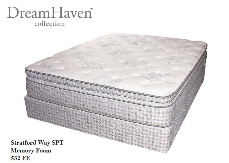 serta pillow top mattress. SERTA Dreamhaven - Stratford Way Super Pillow Top Queen Serta Mattress