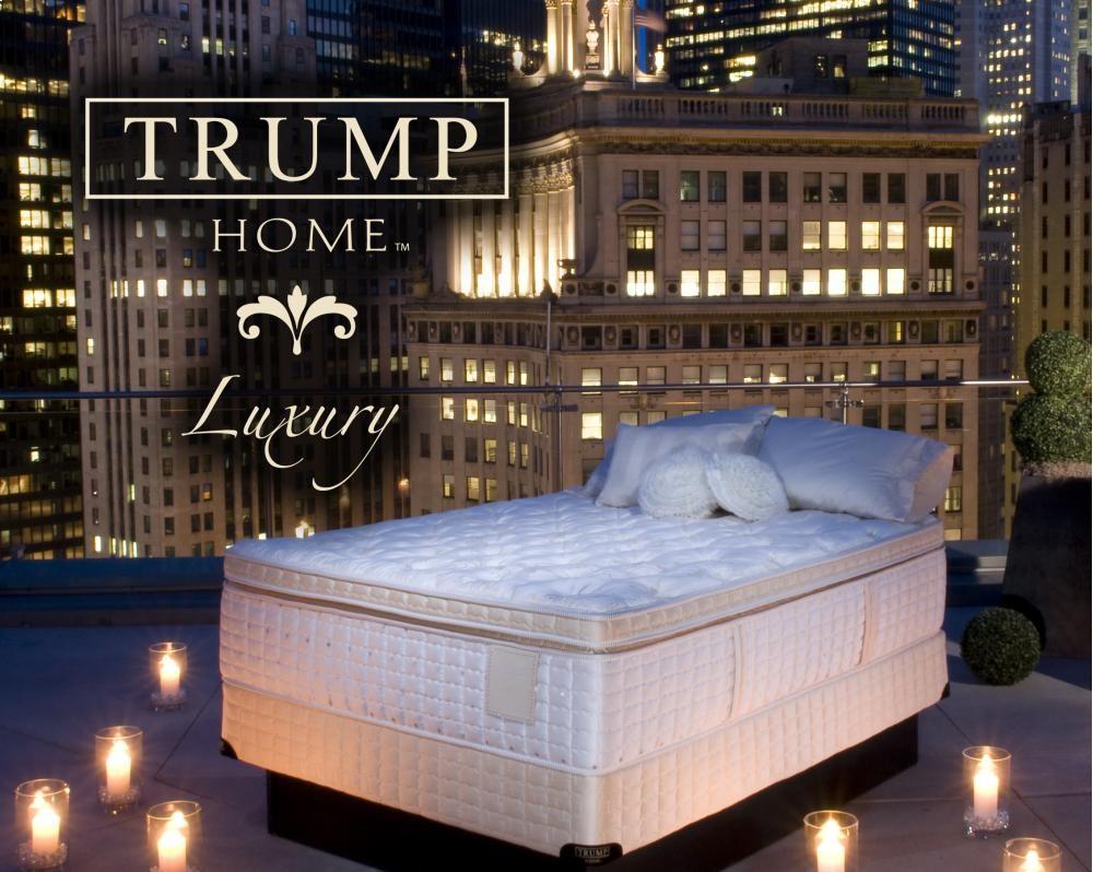 Trump Luxury Segovia Pillow Top Queen Pillow Top Mattresses