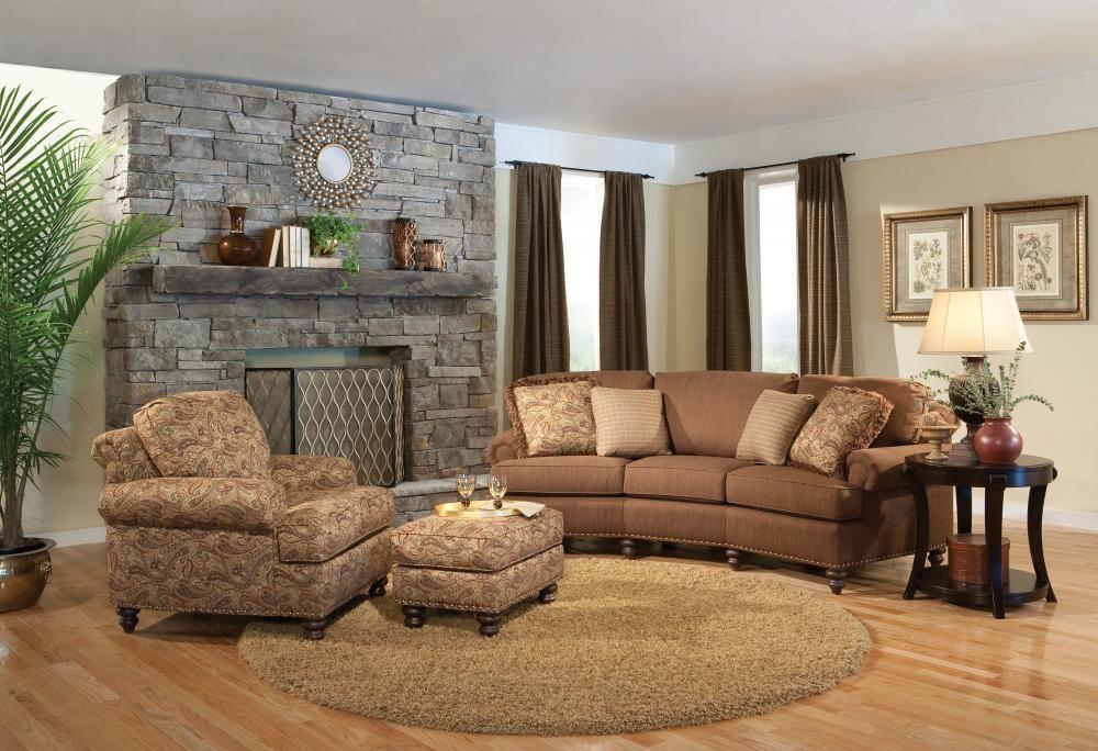 Smith Brothers Furniture Conversation Sofa 32412 Sofas