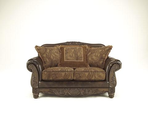 Fresco DuraBlend® - Antique - Loveseat - Fresco DuraBlend® - Antique - Loveseat 6310035 Leather Love