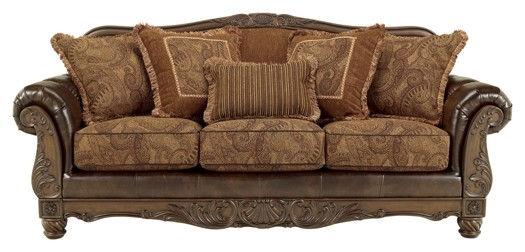 Fresco DuraBlend® - Antique - Sofa - Fresco DuraBlend® - Antique - Sofa 6310038 Leather Sofas Price