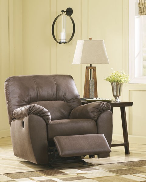 Amazon - Walnut - Rocker Recliner