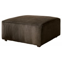 Vista - Chocolate - Oversized Accent Ottoman