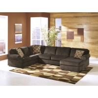 Vista - Chocolate - LAF Sofa