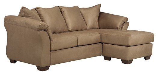 Darcy - Mocha - Sofa Chaise