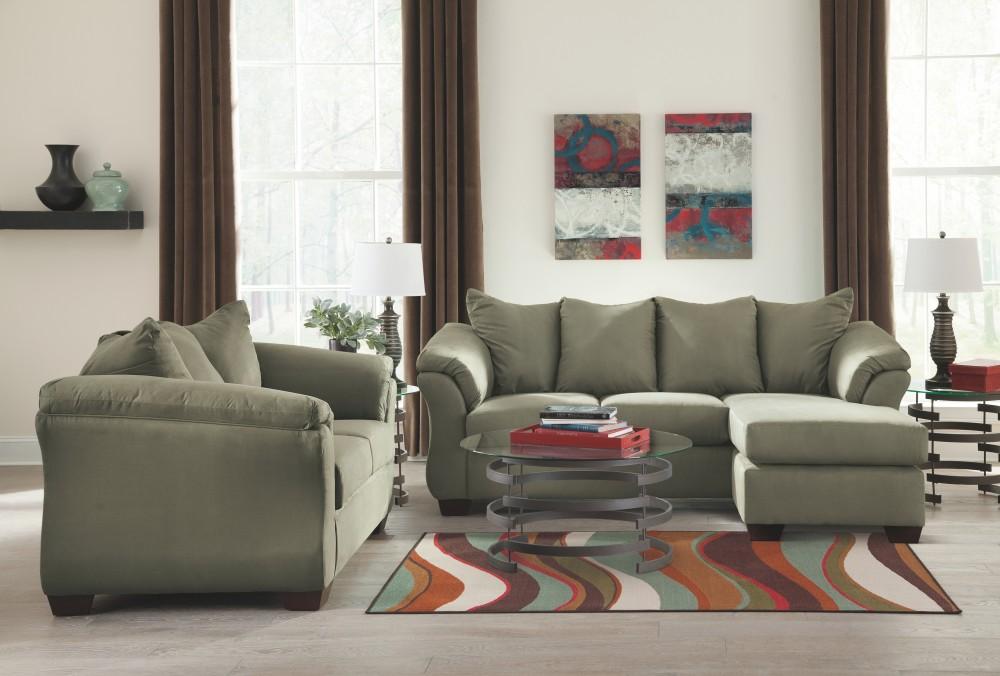 Wondrous Darcy Sage Sofa Chaise Ibusinesslaw Wood Chair Design Ideas Ibusinesslaworg