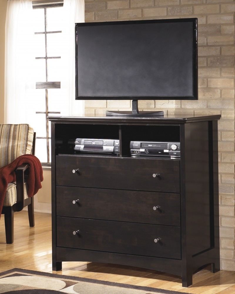 Harmony - Dark Brown - Media Chest