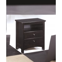 Harmony - Dark Brown - One Drawer Night Stand