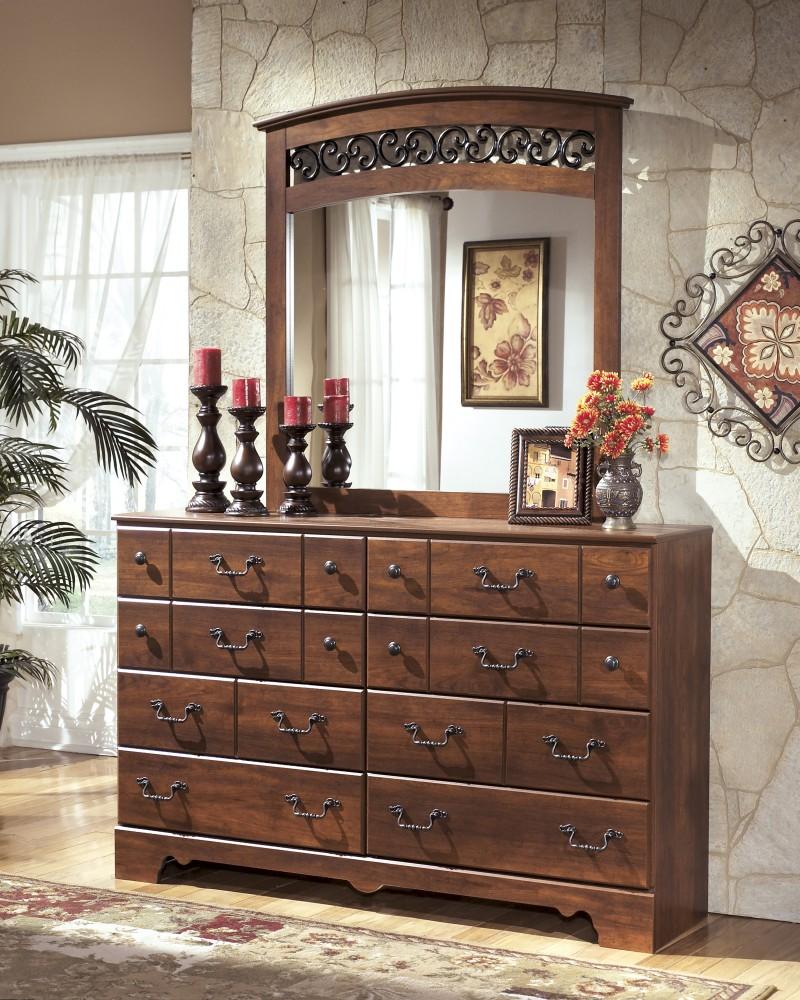 Timberline - Warm Brown - Dresser