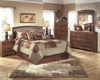 Timberline - Warm Brown - Bedroom Mirror