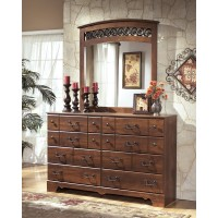 Timberline - Warm Brown - Bedroom Mirror