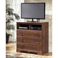 Timberline - Warm Brown - Media Chest