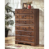 Timberline - Warm Brown - Five Drawer Chest