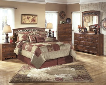 Timberline - Warm Brown - Two Drawer Night Stand
